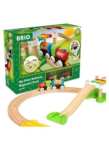 Brio BRIO Pilli ılk Tren Setim 33710 Renkli